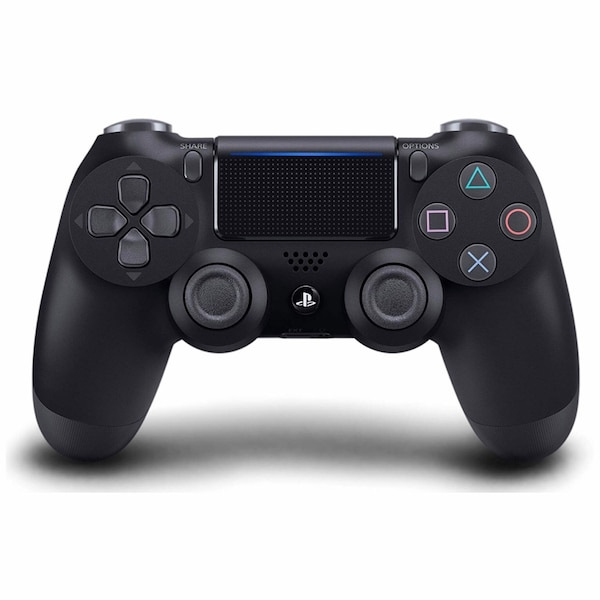 Black Sony PS4 DualShock 4 Controller 1