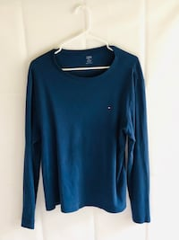 Tommy Hilfiger blue long sleeve w/ small embroidered patch  Cockeysville, 21030
