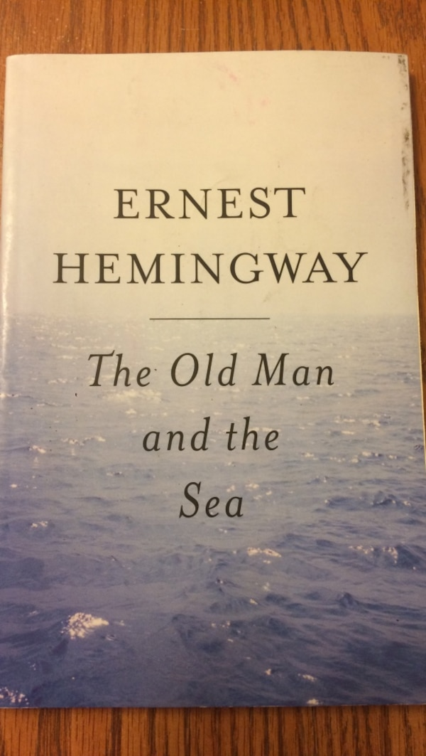 The old man and the sea by ernest hemingway book