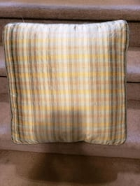 Large cushion. $10 live in prestwick se Calgary, T2Z 4P7