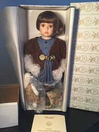 2002 princess house porcelain doll maggie Vaughan, L4H 2Y8