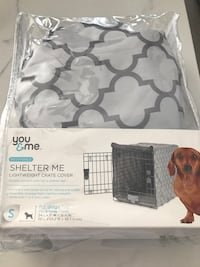 Crate cover for dog crate xs new