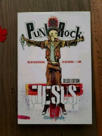 Punk rock Jesus deluxe edition graphic novel Seattle, 98101