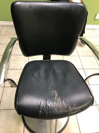 3 salon chairs used but in working condition.  300 obo Hamilton, L8N 1B3