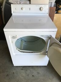 Maytag-White front load clothes dryer Shasta Lake, 96019
