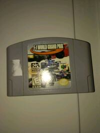 F1 world grand prix n64 nintendo 64 game Hamilton, L0R 1C0