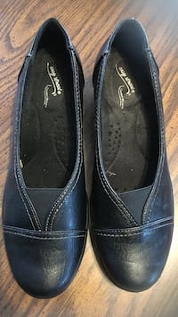 pair of black leather loafers Concord, 01742