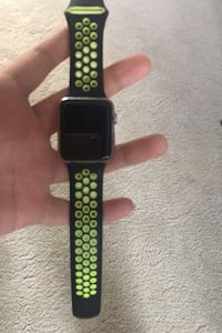 Apple watch 42mm stainless steel saphire crysta