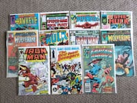 Lot of 1980s Vintage Various Marvel Comics  Calgary, T2R 0S8