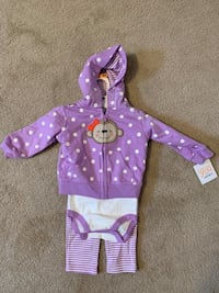Girls 9mo outfit/clothing  Leesburg, 20175