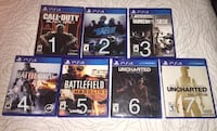 mint condition PS4 games •various price• Chatham-Kent, N7M 5J3