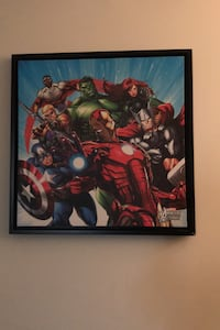 Avengers pic on wall Mississauga, L5K 1A3