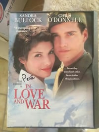 In Love and War DVD case Las Cruces, 88007