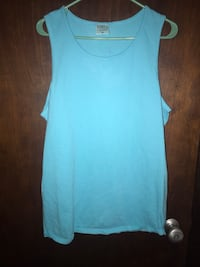 women's blue tank top Saint Albans, 25177
