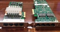 Pair of HP Quad Gigabit NIC PCI Express x4 Server adapter NC364T HSTNS-BN26  Laval, H7E 3T2