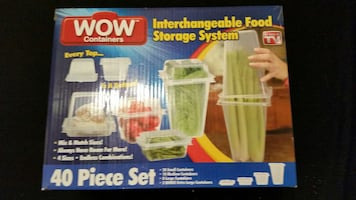 WOW 40PC. Interchangeable Food System