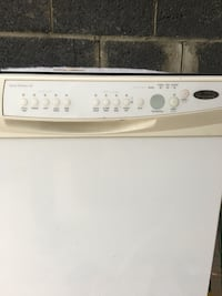 white and gray Whirlpool top load washing machine Vaughan, L4K 4C8