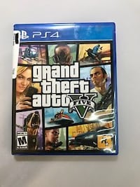Sony PS4 Grand Theft Auto Five case Inwood