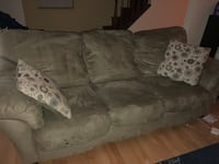 3-pieces: couch AND single couch with ottoman Gaithersburg, 20879