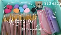 Makeup Brushes, Brush Sets and More! - $8 and up!