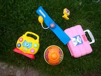 Fisher Price Kids Toy Bundle w/ Doctors Case