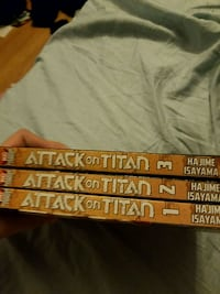 Attack on titan manga 1-3 Norman