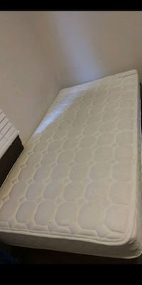 Singles mattress and frame
