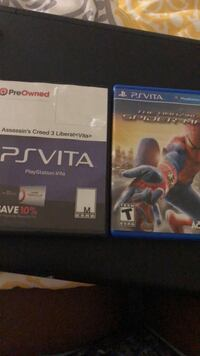 two Sony PS4 game cases Tallahassee, 32310