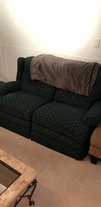 Green recliner love seat  Arlington, 22202