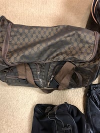 Brown suitcase Bloomfield Hills, 48302