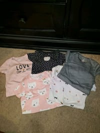 24months girls onesies 5 pairs South Bend