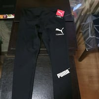 yoga pants ladies medium  puma and adidas