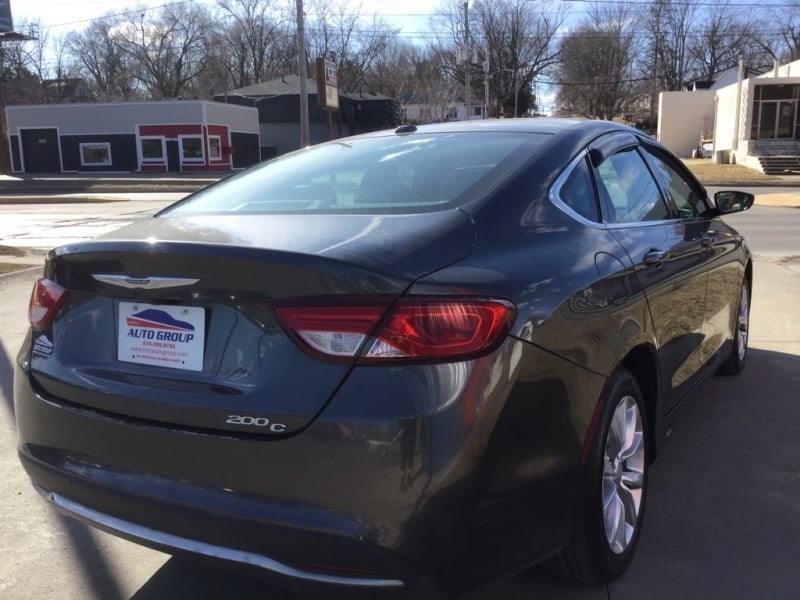 *LOW MILES* *NEW ARRIVAL* 2015 Chrysler 200c -- Ask About Our GUARANTEED CREDIT APPROVAL ab871b37-f918-4df5-9a9c-2feebf2fc4df