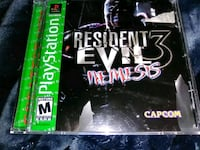 PlayStation 1 resident evil 3 Nemesis game Branford, 06405