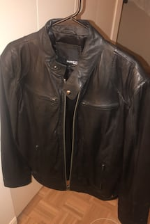 Barney's Leather Jacket Men's Medium