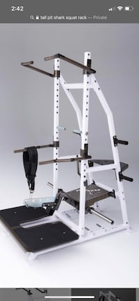 Put shark squat rack