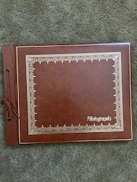 Vintage brown photo album scrap book never used Oklahoma City, 73145