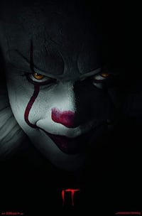 IT Pennywise Poster Brand New Methuen, 01844