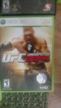 Xbox 360 UFC 2 game case Chillicothe, 45601
