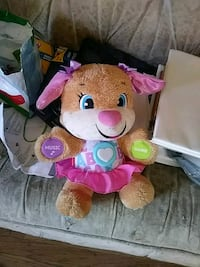 brown and pink bear plush toy Colonie, 12205