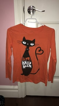 orange Halloween long sleeve