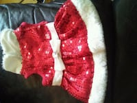 Mrs. Claus dog outfit Toronto, M2J 1B3