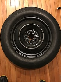 Goodyear convenience spare tire and rim 5 lug. T155/90D16  Normal
