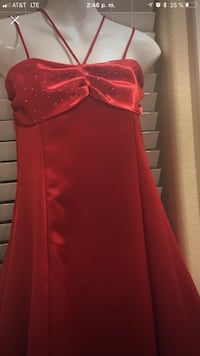 Girl red dress  size 14 is only used, is for girls 10 year up firms in the price Las Vegas, 89149