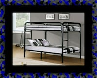 Twin bunkbed frame with 2 mattress Ashburn, 20147