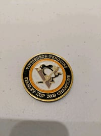 Pittsburgh Penguins collectors coin Herndon, 20170