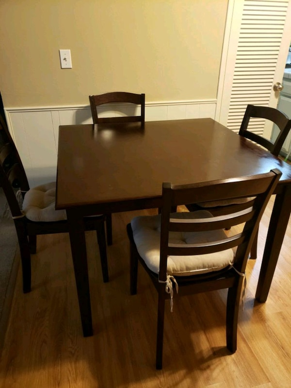 Sensational Dining Table Set With 4 Chairs Theyellowbook Wood Chair Design Ideas Theyellowbookinfo