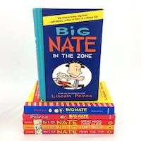 Lot 6 Big Nate Books Lincoln Pierce Funny Comedy Series Kids Ages 8 9 10 11 12 Port Colborne