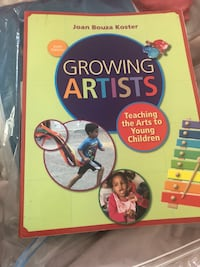 Growing Artists completely new Available for pick up only. No delivery Toronto, M9B 4A7