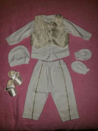 NEW  baptism costume. Up to 6 months baby  Toronto, M2M 3Z2